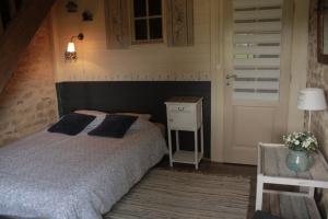 Tweede slaapkamer Vakantiehuis Les champs de Fleury